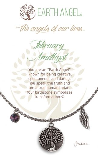 English Birthstone Necklaces