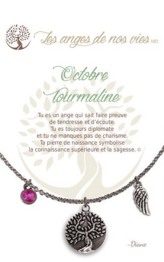 French Birthstone Necklaces